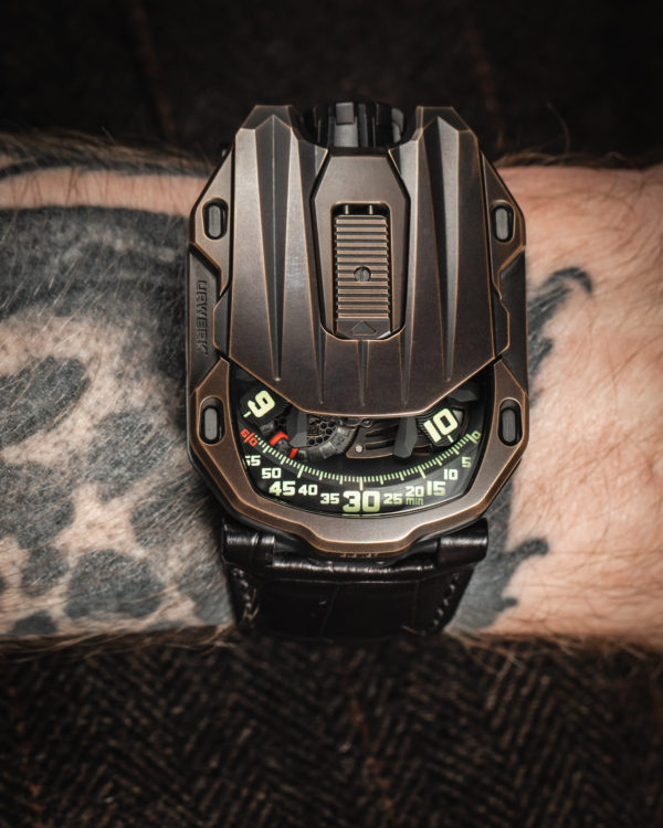 Urwerk Watches New Launch : The Maverick UR-105 CT